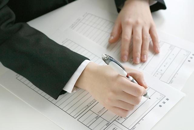 エントリーシートをボールペンで書き間違えたときの修正の仕方
